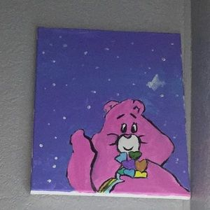 A bear painting😭? I MADE IT